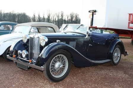 MG VA Tourer de 1938