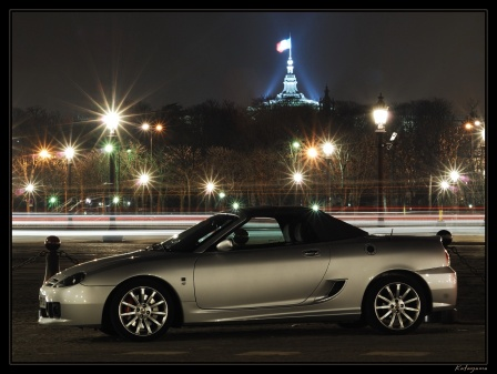 MG TF in Paris