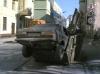 BMW à la poubelle