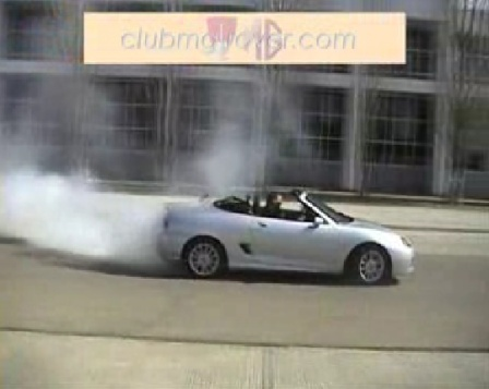 Drifting MG TF